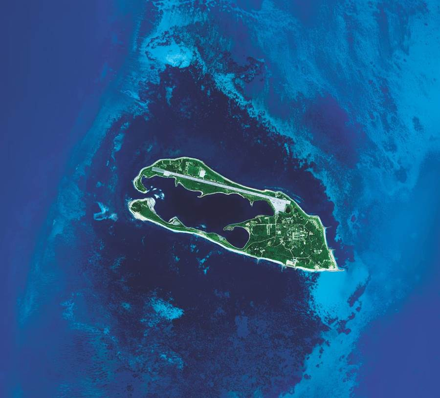 東沙環礁於2007年1月17日由內政部正式公告為東沙環礁公園,為台灣第7座國家公園。(中央大學提供)