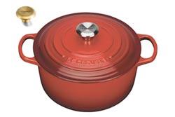 Le Creuset推紅色鍋具迎耶誕