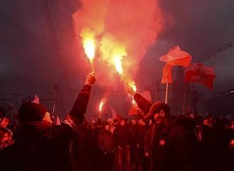 圖輯》意識形態之爭!波蘭獨立99年6萬人上街頭示威遊行