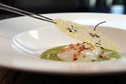 歐麥尬!一顆水波蛋要2500 文華東方Bencotto當令新菜好「貴氣」