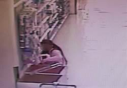 磁鐵、剪刀偷賣場 慣竊偷內衣褲被逮