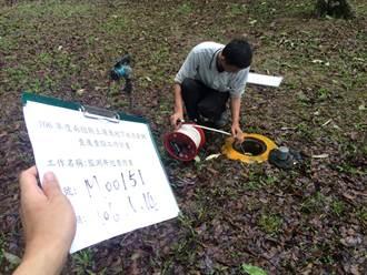 南投防地下水汙染 監測井定期檢查