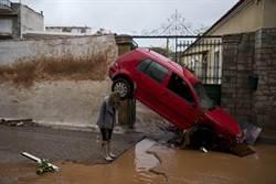 20年來最慘!雅典大洪災釀15死