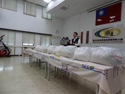 北市警局實施封城掃毒第11波 查獲毒品205公斤 槍枝5支
