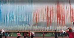 台南市運會粉塵煙火汙染 議員林美燕再轟市府帶頭違法