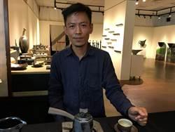 天目碗陶藝家羅紹綺創作日本茶道具 嘉檳文化館展出