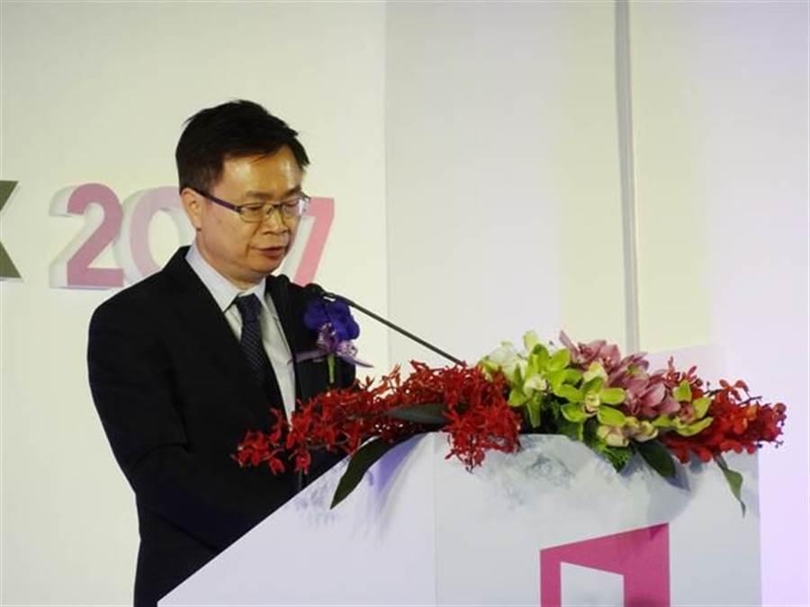 前新南向政策辦公室主任、現任外貿協會董事長黃志芳。(中央社)