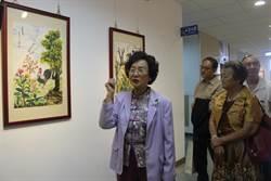 回歸最初拾畫筆 77歲王戴春滿辦個展
