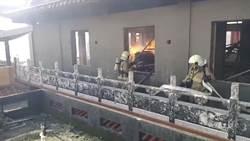 「基隆鬼廟」大火 疑是遊民燒紙錢給好兄弟
