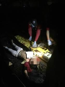 女闖越軌道遭撞送醫不治  影響4列車約2700人