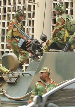 辛巴威政權轉移成定局 穆加比可能隨時下台