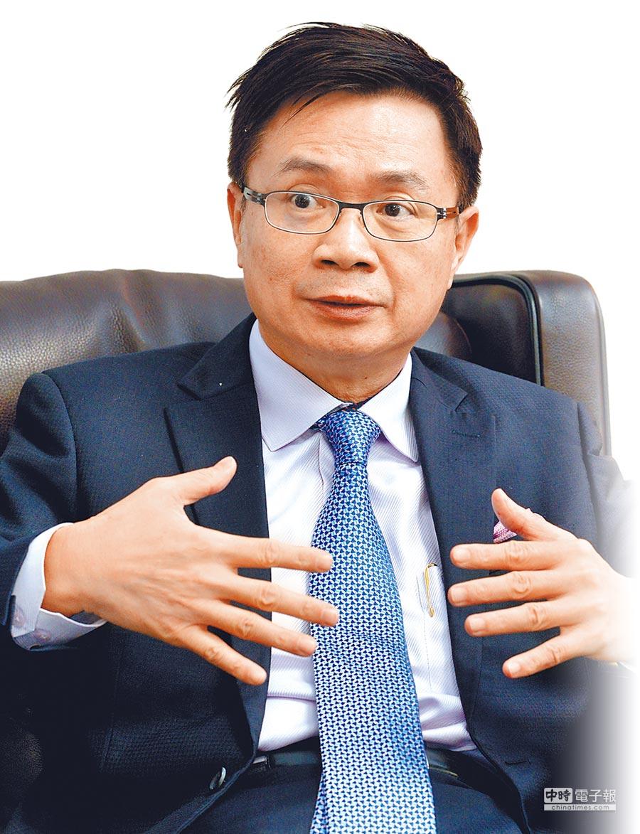 現任貿協董事長黃志芳16日證實與陳慶男見面。(本報資料照片)