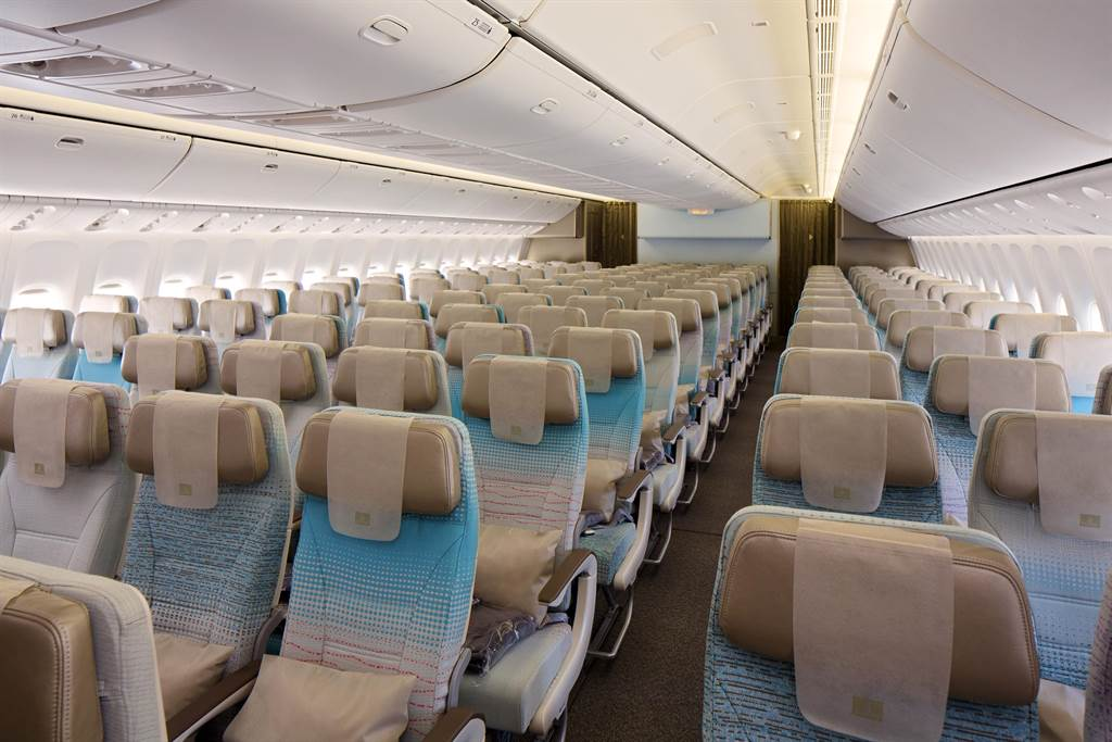 阿联酋航空波音777经济舱。图:业者提供