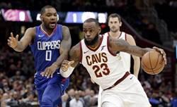 NBA》詹皇39分差點不夠用 騎士驚險4連勝