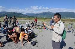 沙灘上種下種子 學童盼保護溼地