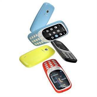 經典Nokia 3310回來了 3G復刻版遠傳今起獨家開賣