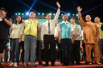 陳其邁初選首場大型造勢晚會 期許當經濟市長