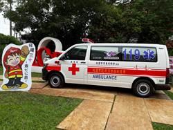 天冷心暖! 桃園市屏東同鄉會捐贈救護車
