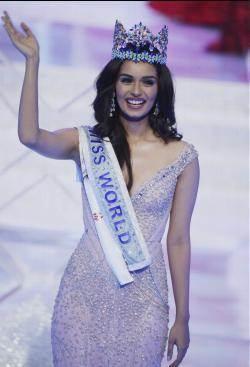 印度佳麗六度當選世界小姐 追平委內瑞拉紀錄