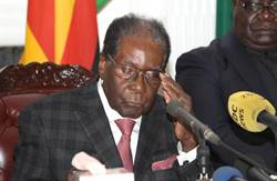 CNN:辛巴威總統穆加比已同意辭職下台