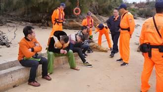 陸船金門翻覆2人失蹤 12家屬「偷渡」尋親被抓