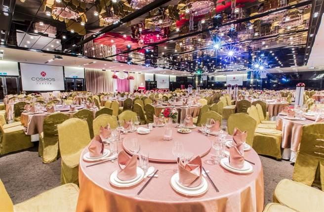 天成大飯店TICC世貿會館宴會廳。圖:業者提供