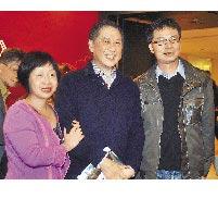 《人民日報》港澳台部主任吳亞明(右)曾經在復旦大學聽過白先勇(中)講課,課中白先勇介紹李昂(左)的《殺夫》,使得吳亞明與台灣現代文學結下不解之緣。(本報系資料照片)