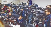 台灣媒體採訪國會朝野協商。(本報系資料照片)