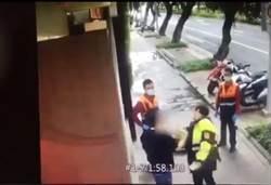 醉漢路倒警關心竟發起床氣 怒摔手機罵X還毆警