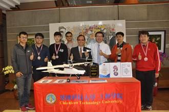 建國智能1號無人機 飛出國際金牌