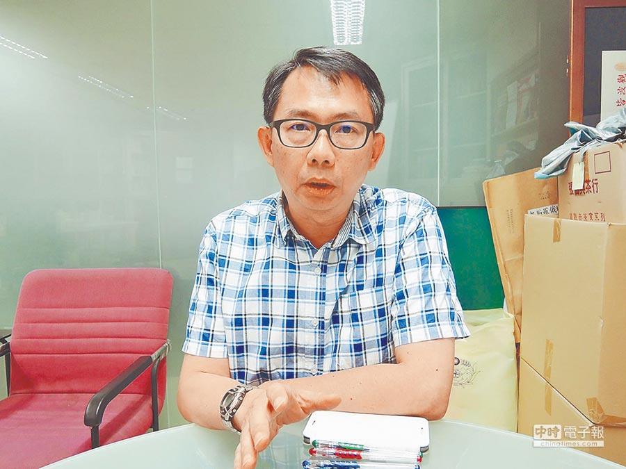 政大東亞所教授寇健文。(本報資料照片)