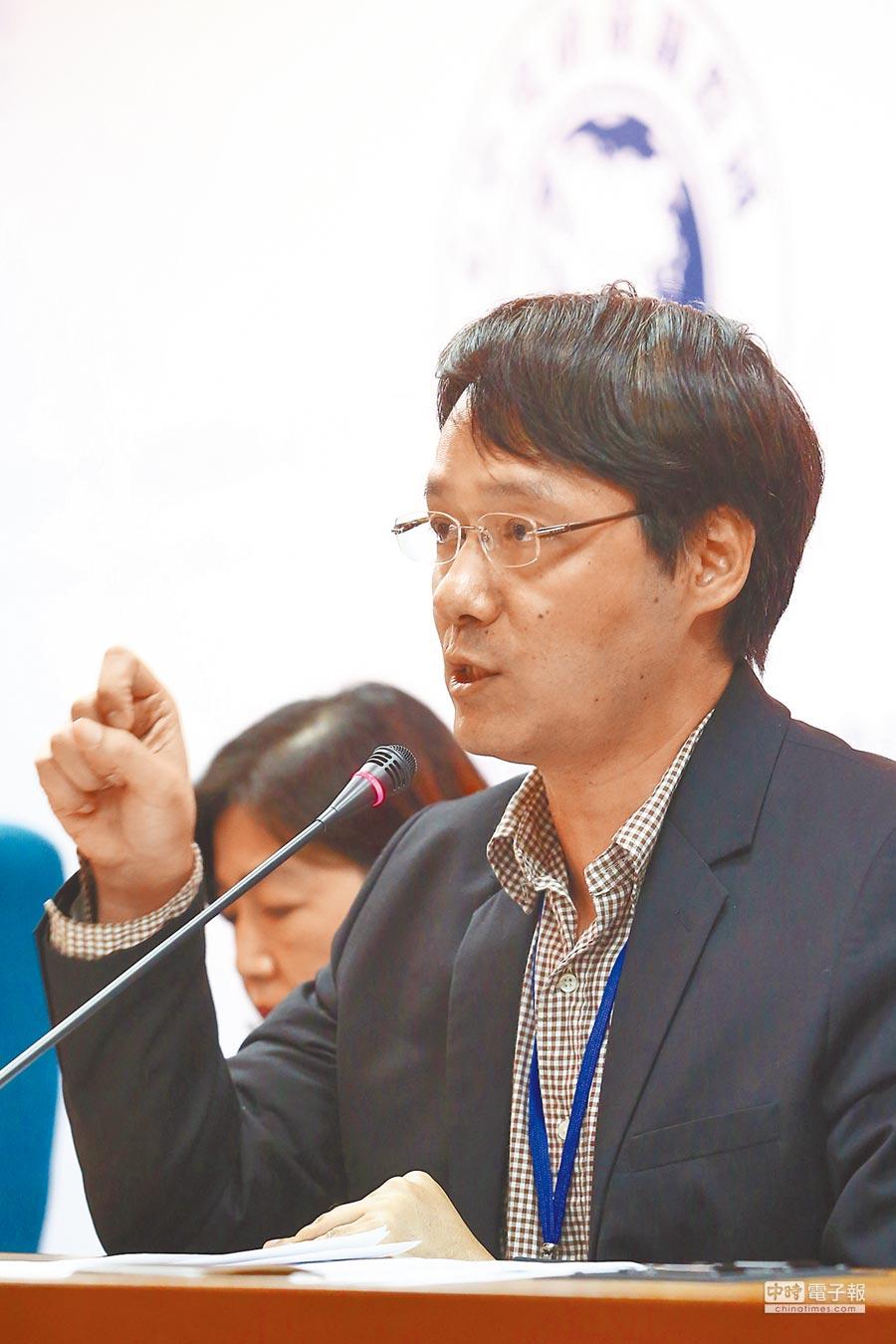 政大東亞研究所教授王信賢。(本報系資料照片)