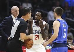 NBA》跟豪哥同命運 貝弗利膝傷整季報銷