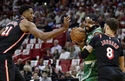 NBA》不給逆轉機會 熱火中止塞爾提克16連勝