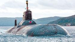 俄颱風級潛艦 變廢鐵也不賣中國
