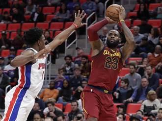 NBA》無視破相 詹皇領騎士撕網6連勝