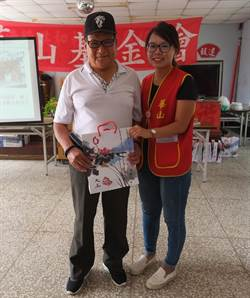 妻子受華山照顧感恩在心 78歲翁當志工回饋社會