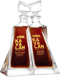 威士忌中的完美逸品 金車噶瑪蘭 尊釀水晶瓶
