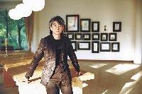 朱德庸在杭州西溪濕地畫室。(朱德庸提供)