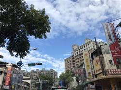 中市擺脫空汙 天空出現藍天白雲