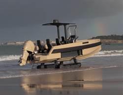 法國水陸兩用小艇 如同007秘密道具
