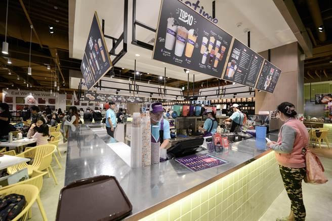 大潤發美食街要以新品牌開店外店。(圖/大潤發提供)