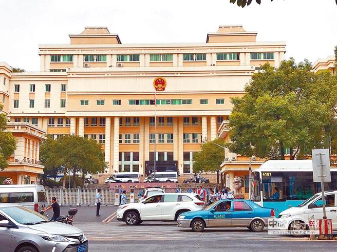 湖南省岳陽市中級人民法院。(記者陳君碩攝)
