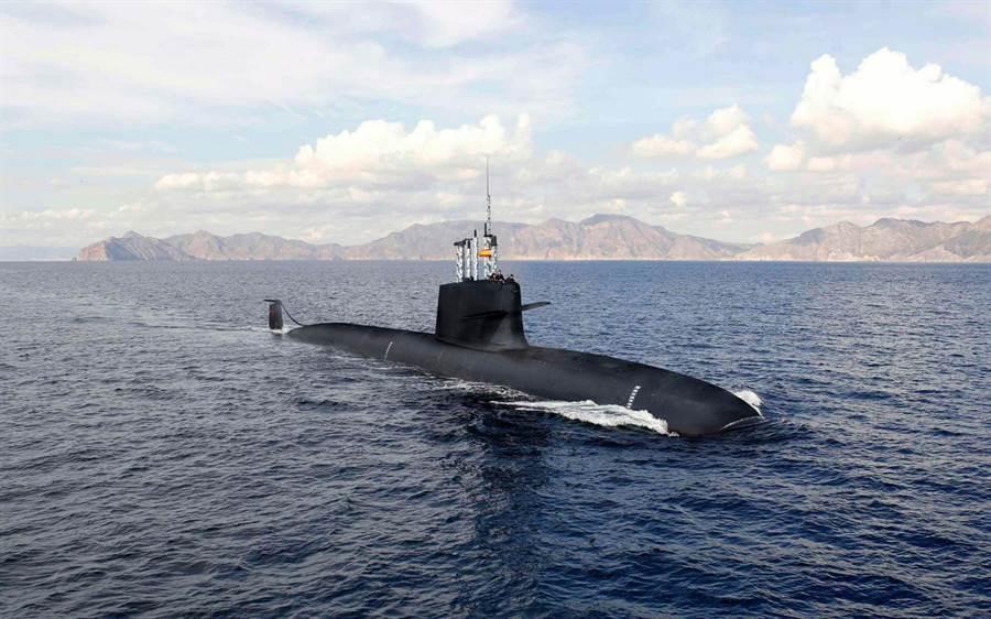 西班牙的S-80潛艦因設計問題還沒完成,不過造船廠又增加新的工作,設計新水下救援潛艇。(圖/西班牙海軍)