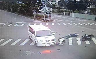 就是不讓! 台南今年發生10起救護車車禍
