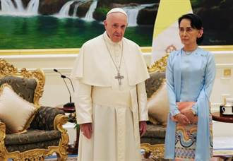 教宗與翁山蘇姬會面 未提羅興亞