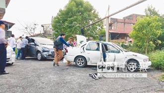 載3歲女撞警車 警轟13槍逮毒販