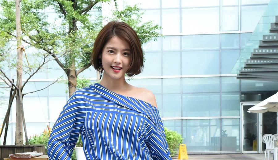 王樂妍出席新戲開鏡。(緯來)