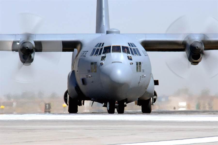 美國空軍現役C-130運輸機。(圖/美國空軍)