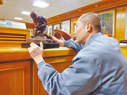 地方掃描-獄中學雕塑 大墩美展奪第2